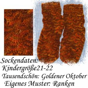 Dornröschen-Socken