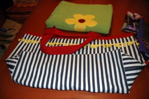 Detail 2 - Decke und Tasche