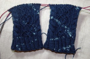 Winterdream Cables Teil 2 - Muster Vorderseite